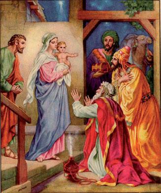 Maria visita Isabel